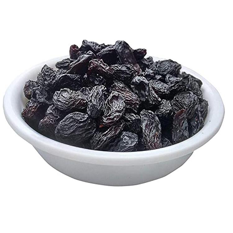 Afghan Black Raisins With Seeds