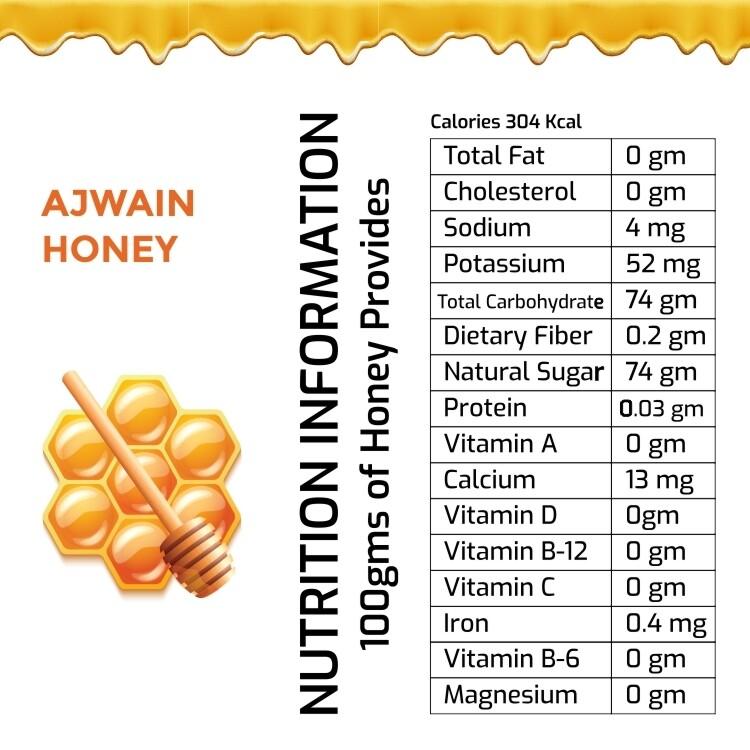 Ajwain Honey 1